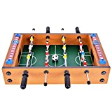 WIN.MAX Mini-Fußballtisch MDF Durable Spiel Viel Spaß 36.5 cm x 21.5 cm x 9cm Geburtstag Urlaub...