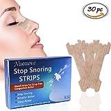 Nasenpflaster, Gegen Schnarchen, Nasenstrips, Schnarchstoppper, für maximalen Halt in der Nacht...