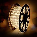 kefflum LED Lichterschlauch 30M, Lichtschlauch Lichterkette Licht Leiste 36LEDs/M Schlauch für...