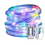 LED Lichtschlauch als Weihnachtsdeko–Afufu 10M 136er Lichterschlauch Bunt...