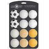 Goods & Gadgets 12x Stück Speedball Kickerbälle für Tischfussball Tischkicker Kicker-Ball Set...