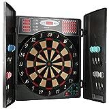 UItrasport elektronisches Dartboard mit Türen, Classic Dart für 16 Spieler, Dartspiel mit...