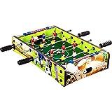 Maxstore Mini Kicker 4 Dekorvarianten Tischfußball Maße: 51x31x8 cm Gewicht: 2,6 kg, 4...