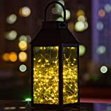 Solar Laterne, Tomshine Solar Garten Laterne, Dekorative Kupferdraht 30 LED Lichterkette...