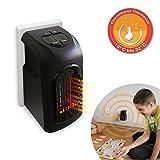 Livington Handy Heater 370 Watt Effektive Keramik Mini Heizung für die Steckdose das TV Original...