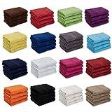 AR Line 4er Pack zum Sparpreis, Frottier Handtuch-Serie - in 7 Größen und 16 Farben 100% Baumwolle...