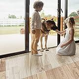 Floordirekt Bürostuhlunterlage Bodenschutzmatte   Bodenmatte Stuhlunterlage   Transparent  ...
