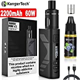 E Zigarette Starter Set Kangertech 60W 2200mAh Subox Mini V2 OLED Screen Verdampfer 2mL 0,8/1,5ohm,...
