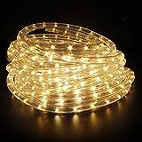 Kefflum LED Lichterschlauch 6M,Lichtschlauch Lichterkette Licht Leiste 36LEDs/M Schlauch für Innen...