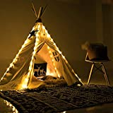 Led Lichterkette für Tipi Zelt, 4 X Kette Kinder Teepee Spielzelt Lights Dekorativ, Fairy Lights...