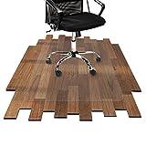 etm Bodenschutzmatte 90x120 cm Hartboden   extra transparent und rutschfest   optimales...