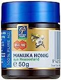 Manuka Health - Manuka Honig MGO 100 + 50g - 100% Pur aus Neuseeland mit zertifiziertem...