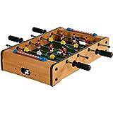 Maxstore Mini Kicker 3 Dekorvarianten Tischfußball Maße: 51x31x8 cm Gewicht: 2,6 kg, 4...