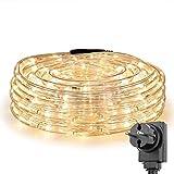 Lighting EVER LE 10m LED Lichterschlauch 240 LEDs wasserfest IP65, Strombetrieben mit EU-Stecker,...