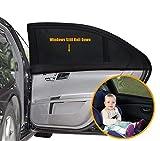 UEOTO Auto Sonnenschutz für Baby 2 Stück, Autofenster Sonnenschutz für Kinder mit UV...
