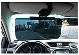 Amorar Auto Sonnenschutz, Blendschutz Auto Sonnenblende Verlängerung Tag Fahren Sonnenblende Fahren...