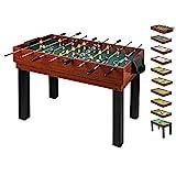 1PLUS umfangreicher Multifunktionsspieltisch Tischkicker-Multifunktionstisch (10 in 1) für die...