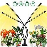 LED Pflanzenlampe Vollspektrum für Zimmerpflanzen, 40W 160 LEDs Flexibles Grow Light Pflanzenlicht...