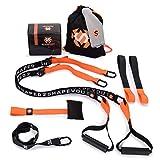 Septagon Sports® Premium Sling Trainer Set V.2020 Suspension Trainer mit Handtuch, Rucksackbeutel...