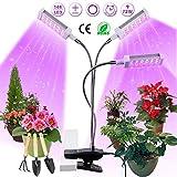Pflanzenlampe LED, Pflanzenlicht, Pflanzenleuchte 72W, Wachsen licht with 144 Leds, Wachstumslampe...