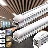Led Röhre Leuchtstoffröhre komplett-Set mit Fassung 120cm 18W 1900lm 4000K Neutralweiss...