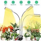 Led Pflanzenlampe Vollspektrum, Vogek 72W Grow Lampe für Zimmerpflanzen, 144 LEDs Pflanzenlicht mit...