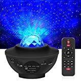 LED Projektor Sternenhimmel Lampe Kinder Nachtlicht Baby Sterne Lampe mit Fernbedienung/Bluetooth...