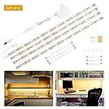 LED Unterbauleuchte Schrankleuchte,Heller Lichtleiste mit Schalter,LED-Küche unter...