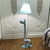 Stehlampe Cartoon Kinder Schlafzimmer Tiere Kreative Stoffe Wohnzimmer Studie Vertikale Tischlampen...