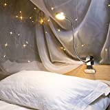 Schreibtischlampe EYOCEAN Klemmlampe LED Leselampe, CE Adapter Enthalten, Augenpflege, Dimmbar 3...