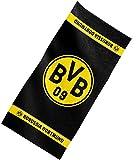 Borussia Dortmund Badetuch/Duschtuch/Strandtuch Emblem ca. 70 cm x 140 cm BVB 09 - Plus gratis...
