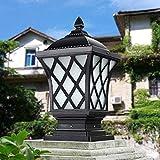 Baibao Außenleuchte mit Scrub Glas for Außenhaus Porch Patio - Traditionelle Victoria...