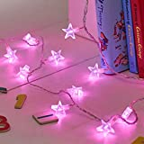 30er LED Lichterkette Sterne warmweiß Lights4fun