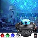 UOUNE sternenhimmel Projektor, Led sternenprojektor Lampe Starry/Wasserwellen/Bluetooth Lautsprecher...