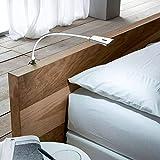 2 x SO-TECH® LED Bettleuchte Luminoso Weiß inkl. 1 x Netzteil Flexleuchte Leseleuchte...
