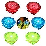 Linlook Reflektoren Blinklicht für Kleidung/Schulranzen/Schuhe, LED Sicherheitslicht Clip...