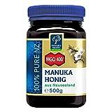 Manuka Health - Manuka Honig MGO 400+ 500g - 100% Pur aus Neuseeland mit zertifiziertem...