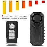 Richer-R Motorrad Alarm System, Drahtlose Fahrrad Alarmanlage,Alarm Sicherheitsschloss Motorrad...