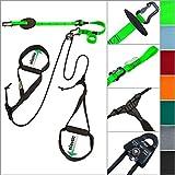 eaglefit Sling-Trainer Allround Elastic, Fitnessgerät, Schlingentrainer inkl. Umlenkrolle,...