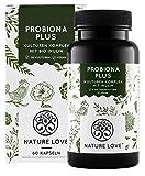 NATURE LOVE® Probiona PLUS - 120 Mrd KBE je Tagesdosis (hochdosiert) - 20 Bakterienstämme + Bio...