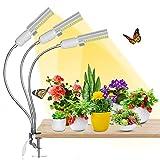 Pflanzenlampe LED, AMBOTHER Pflanzenlicht 68W 132 LEDS Grow Lampe Vollspektrum 3 Modi 5 Helligkeit...