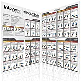 intensic SPORTS Slingtrainer Workout Poster - großes Doppelposter (2X DIN A1) mit 60...