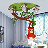 Kinder-Deckenleuchten-- Jungen und Mädchen Kinderzimmer Lampen Augenschutz LED-Beleuchtung...